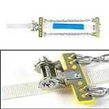 Detectoy Manganese Steel Anti-Skid Chain,1PC