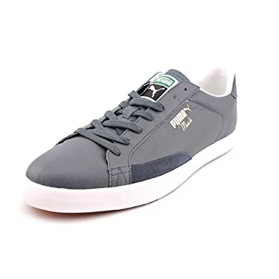 Puma Mens Match Pro Turbulence-Glacier Gray Leather Sneakers Shoes US 8