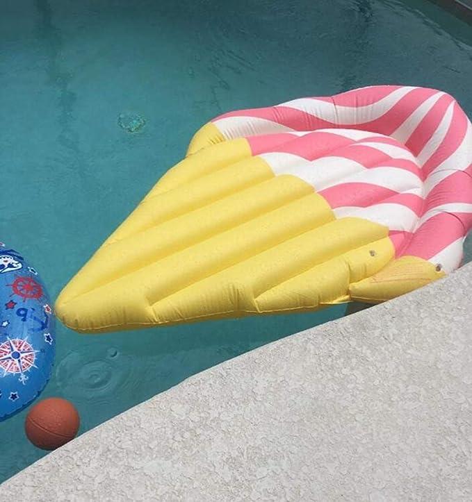Sucastle Hinchable Helado, Flotador Colchoneta Hinchable de Piscina, Fiesta Inflable de los Adultos del Juguete del Agua de la Natación, Personas Niños y ...