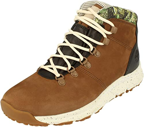 | Timberland Mens World Hiker Hi Top Boots Tb