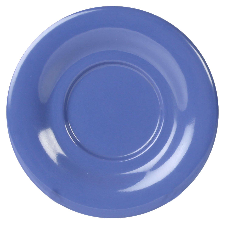 Global Goodwill Coleur Series 12-Pieces 5-1/2-Inch Saucer for Cr303/Cr9018, Coleur Purple