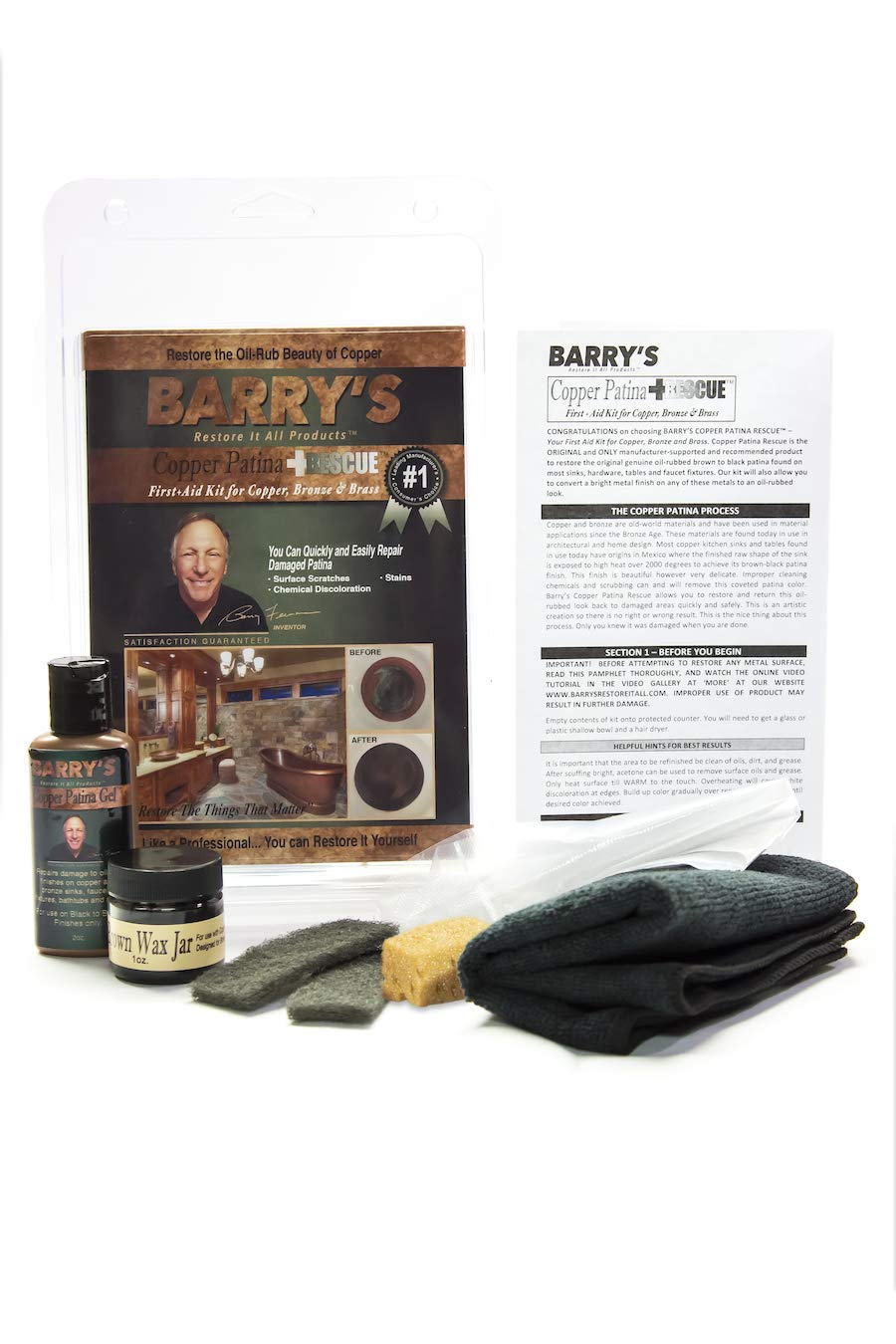 Barry's Restore It All Products - Copper Patina Rescue Homeowner Kit by Barry's Restore It All Products (Image #1)
