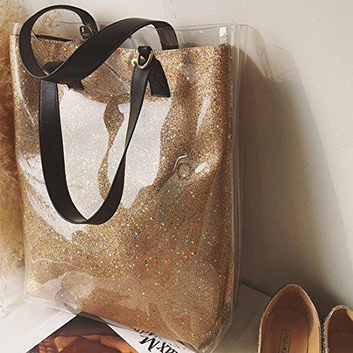 FANCY LOVE Damen Tote-Tasche Gold