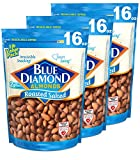 roasted almonds blue diamond - Blue Diamond Almonds, Roasted Salted, 16 Ounce (Pack of 3)