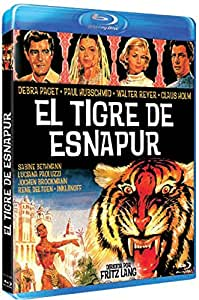 El Tigre De Esnapur [Blu-ray]