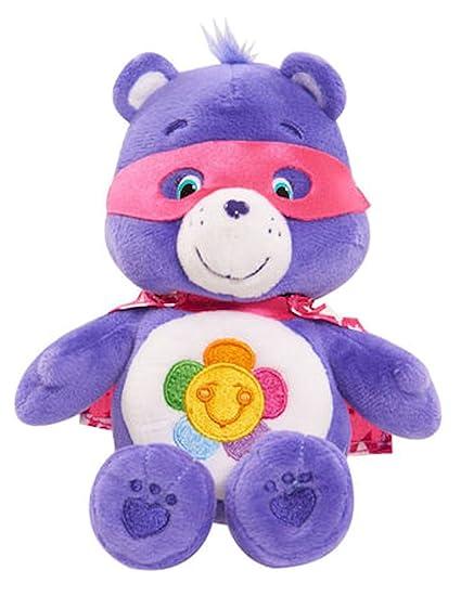 f62b6ec03a8 Amazon.com   Care Bears Harmony Bear Super Hero Friends Beanie Bear 8
