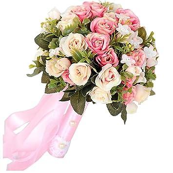 Romantisch Valentinstag Und Hochzeit Blumenstrauss Handgefertigte