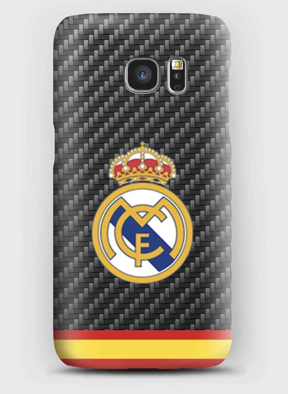 Real Madrid Club de Fútbol Funda para el Samsung S6, S7, S8, S9, A3, A5, A7A8, J3, J5, Note 4,5,8,9,