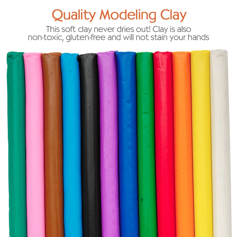 Modeling Clay Art for Kids FC14329 Faber-Castell Do Art Coloring with Clay
