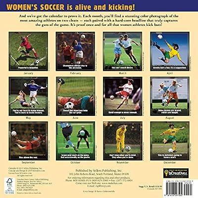 Kickin It: Women's Soccer 2016 Wall Calendar