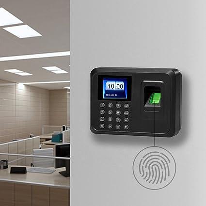"""99digitals® Nueva Precisión A6 2.4 """"TFT Reloj Control Horario Huella Presentismo Asistencia Accesos"""