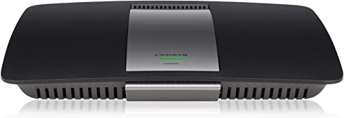Linksys AC1200 Wi-Fi Wireless Dual-Band Router with Gigabit USB Ports, Smart Wi-Fi App Enabled to Control Your Network from Anywhere EA6300