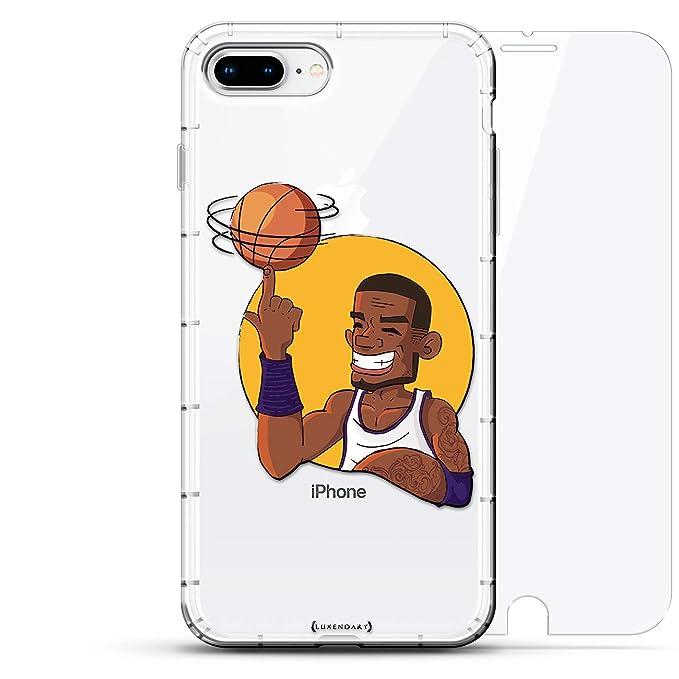 Sports: Caricatura de Jugador de Baloncesto Spinning Ball ...