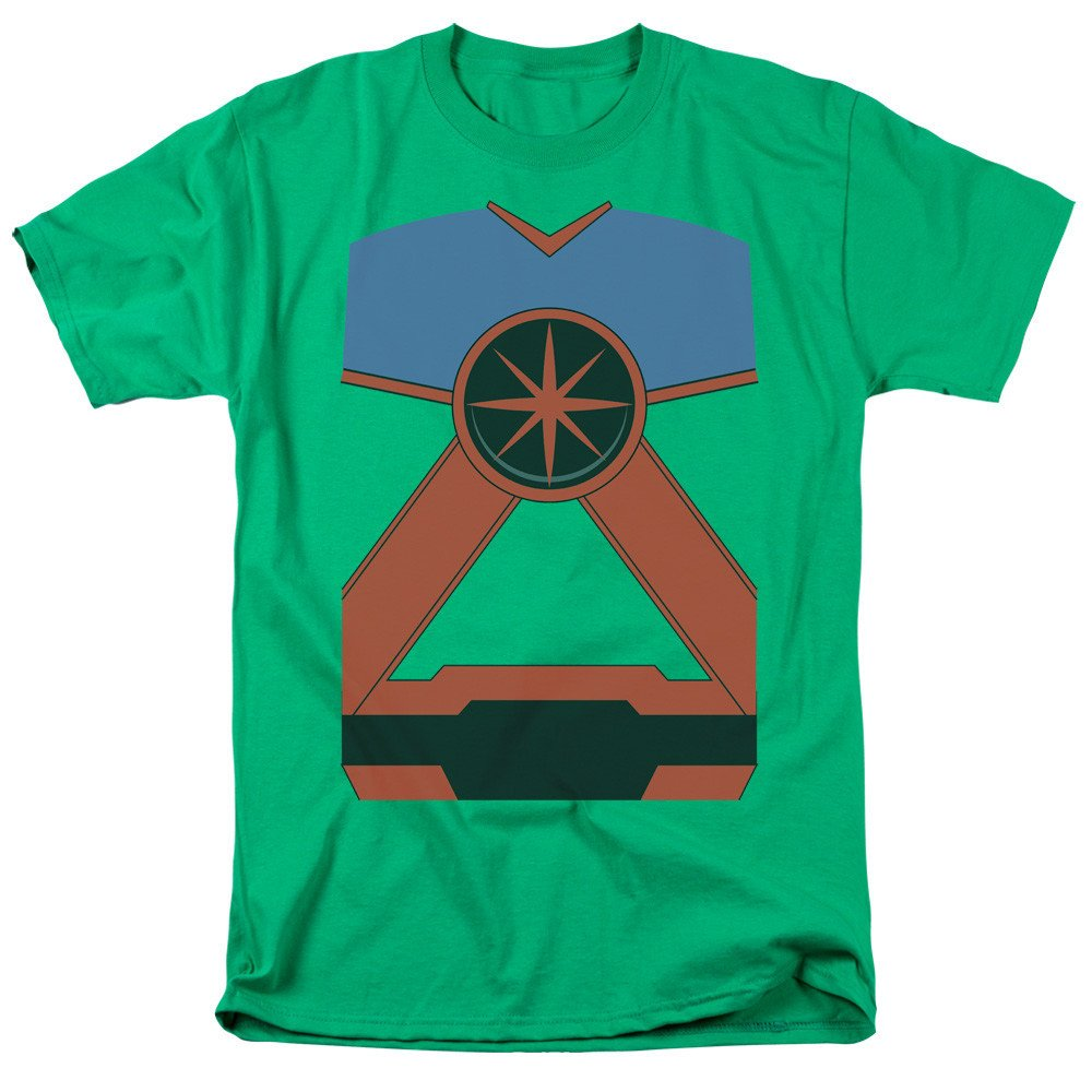 Martian Mh Adult Regular Fit T-Shirt Justice League of America