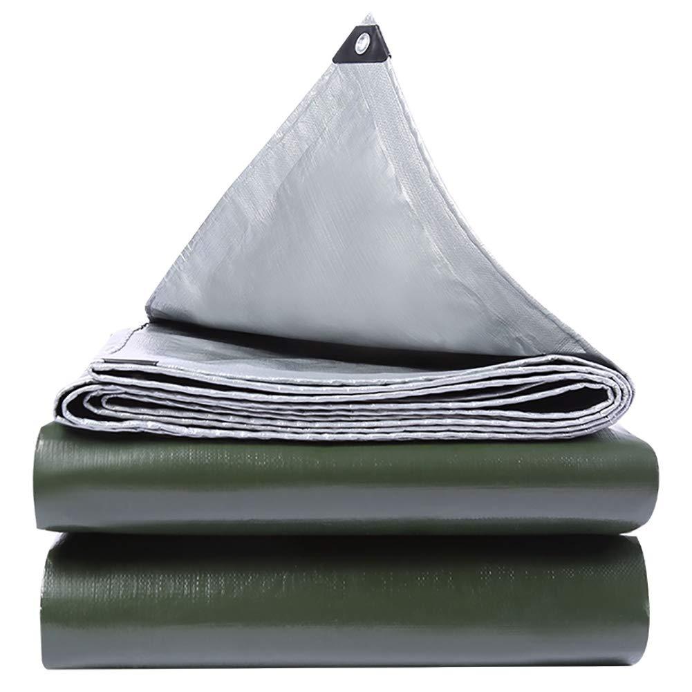 GUOWEI Plane Wasserdicht Frostschutzmittel Sonnenschutz Staubdicht Antialterung Draussen, 15 Größen (Farbe : Silber, größe : 5.8x5.8m)