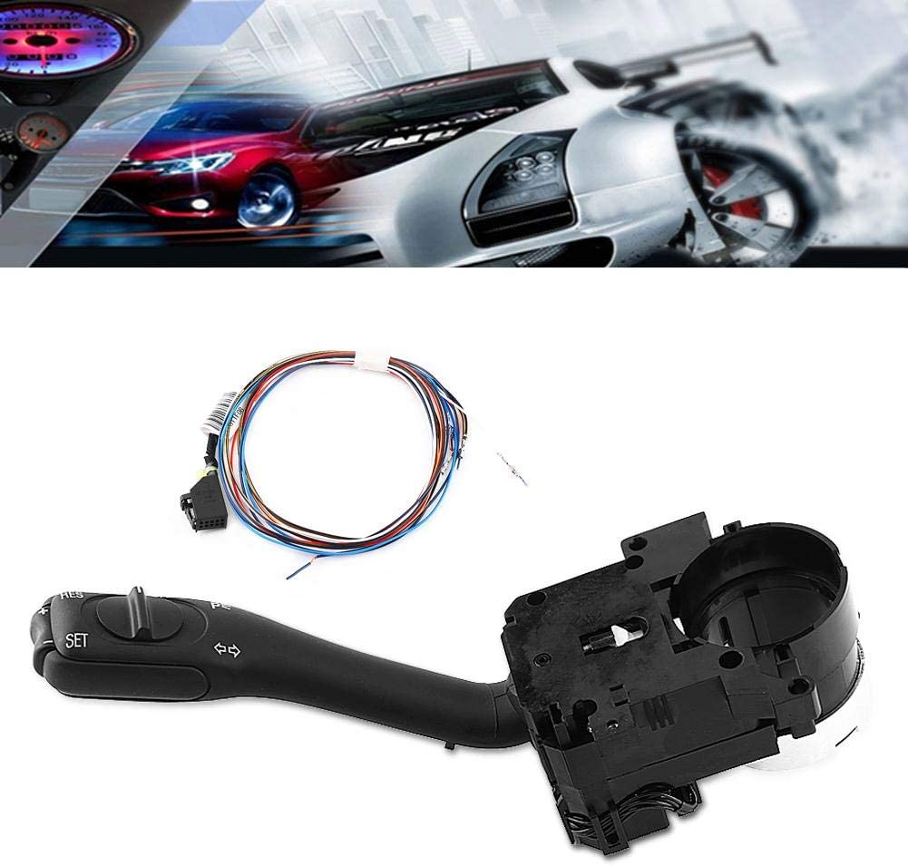 Cruise Control System Stalk Switch /& Harness Turn Signal Switch Turn Signal and Cruise Control Stalk Switch Fit for GTI MK4 Jetta Passat B5 18G-953-513-A