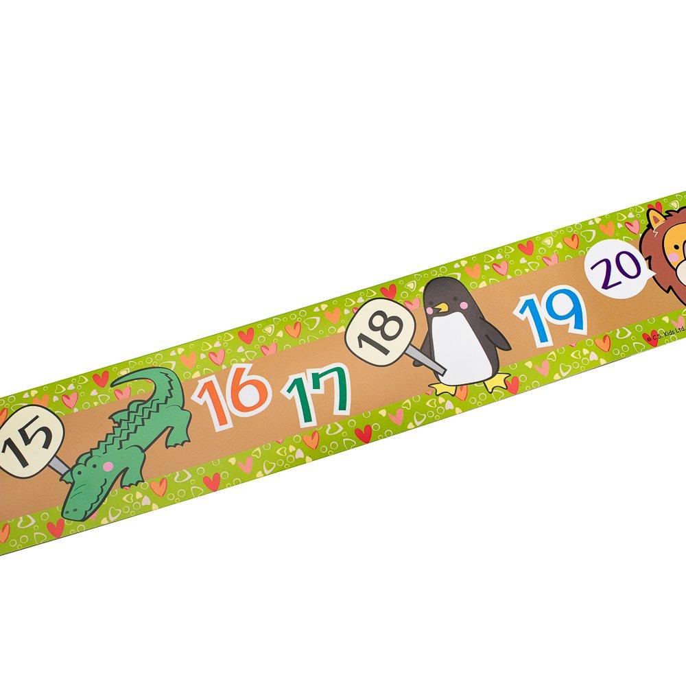 C.S. Kids Numbers Border (Pack of 12)