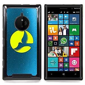Full Moon Dove Caja protectora de pl??stico duro Dise?¡Àado King Case For Nokia Lumia 830