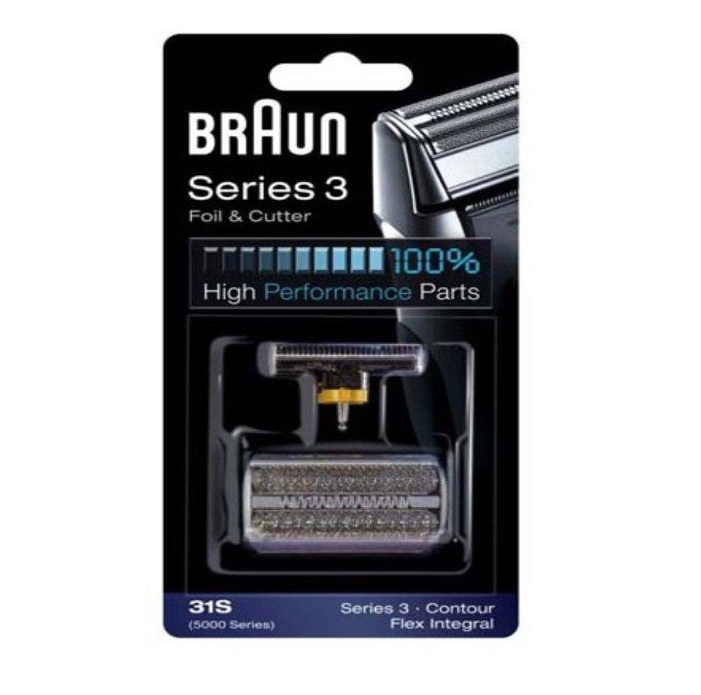 Braun Series 3, Contour, Flex Integral foil and cutterblock, silver Procter & Gamble GmbH 5000