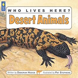 Amazon who lives here desert animals ebook deborah hodge desert animals by hodge deborah fandeluxe Images