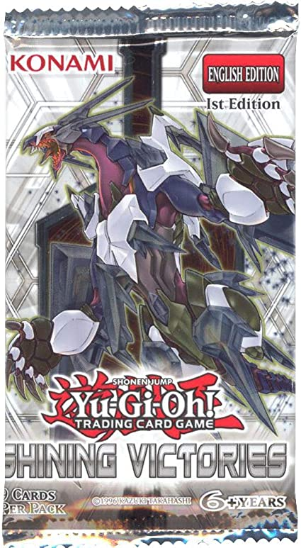 Booster Pack Yugioh Shining Victories sealed 9 Cards unlimited edition SHVI