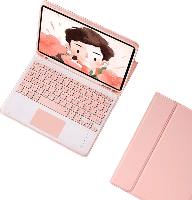 Usuario ultra delgado Smart Cover Bluetooth Touchpad teclado caso