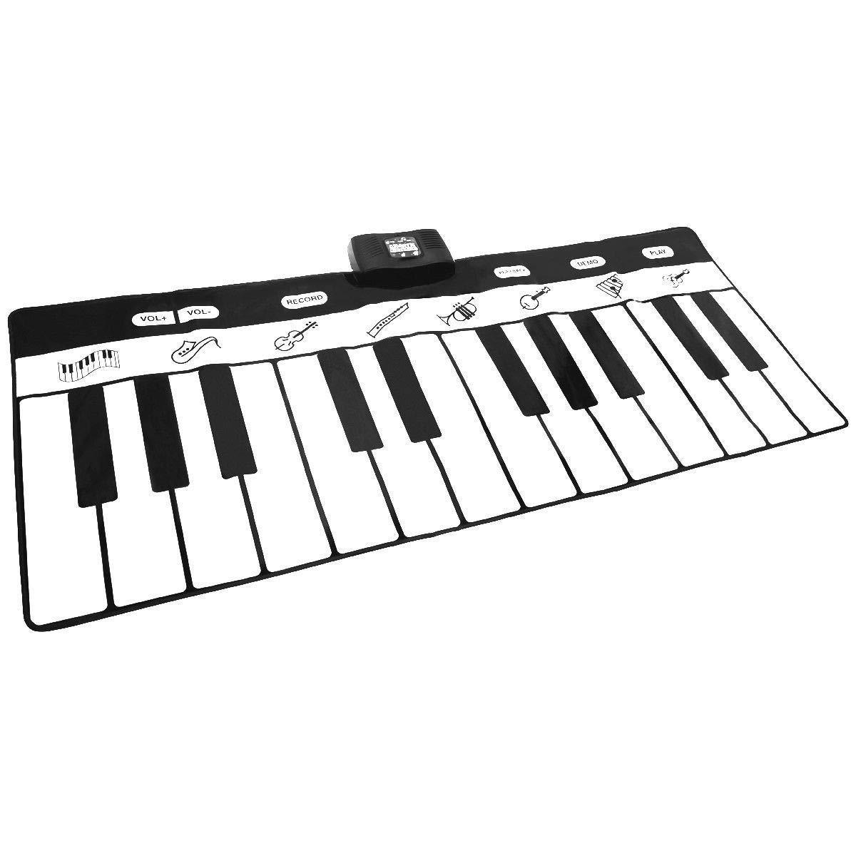 FDInspiration 71'' Kids 24-Key Keyboard Dance Gigantic Piano Playmat w/ 4 Modes with Ebook by FDInspiration (Image #1)