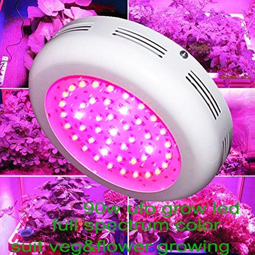 Generic 180w UFO LED Grow Light Full Spectrum 3w Leds Vegetative Flowering Lamp [Energy Class A+] WYZM