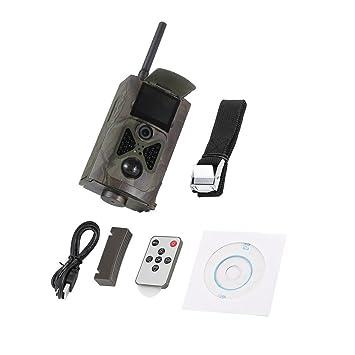 Delicacydex Cámaras de Caza Inalámbricas 500 M HD 1080 P gsm Mms GPRS SMS Control Exploración