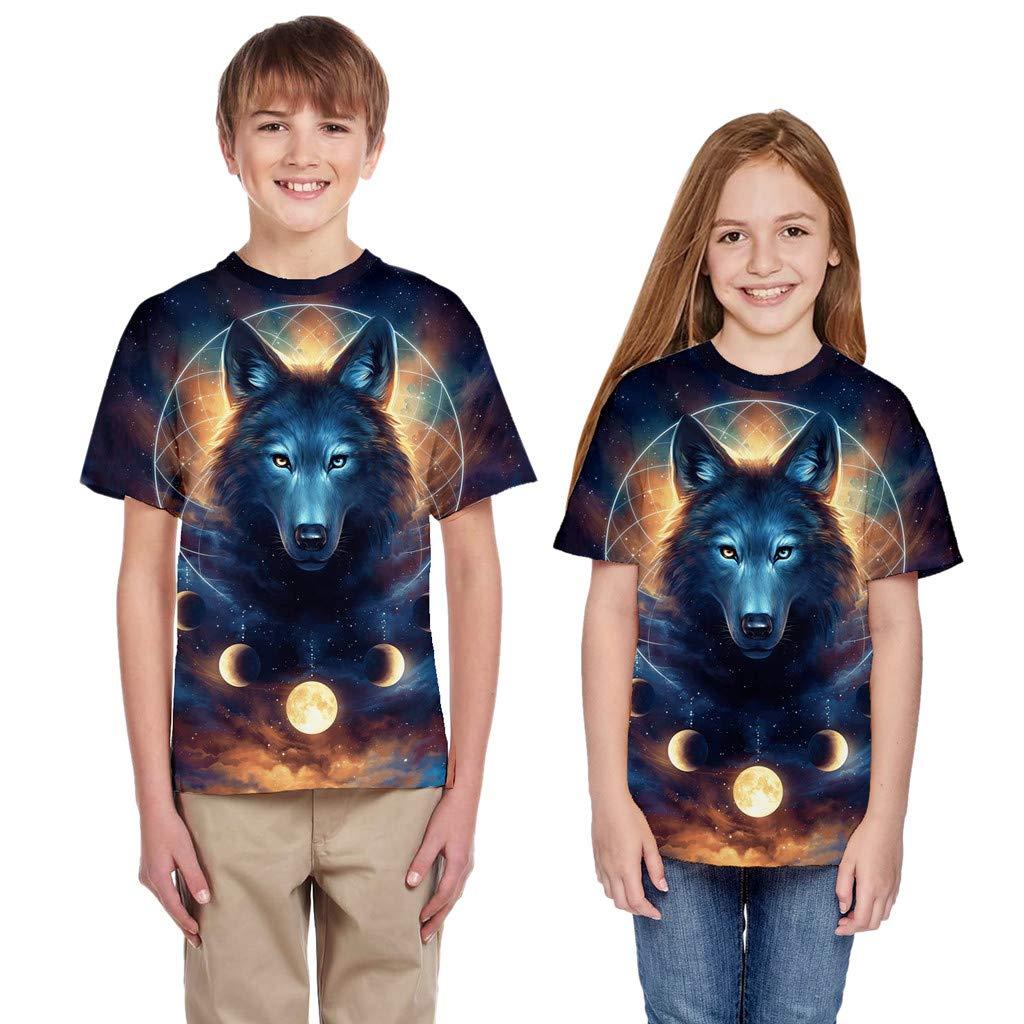 Enfant Filles gar/çons /ét/é Moneycom T-Shirt Adolescent en Bas /âge v/êtements d/écontract/és Tee Shirt Enfant ti-Shirt Unisexe Coton Costume Anniversaire Chic Adolescent 3D