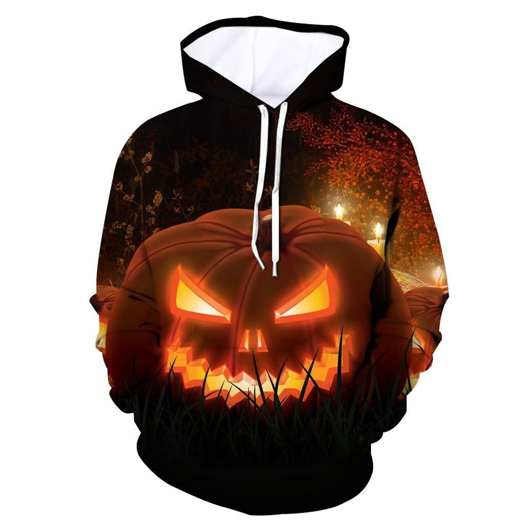 Funnygals - Unisex Hoodies HD 3D Print Pullover Lightweight Sweatshirts Tops Drawstring Hoodie with Kangaroo Pocket by Funnygals