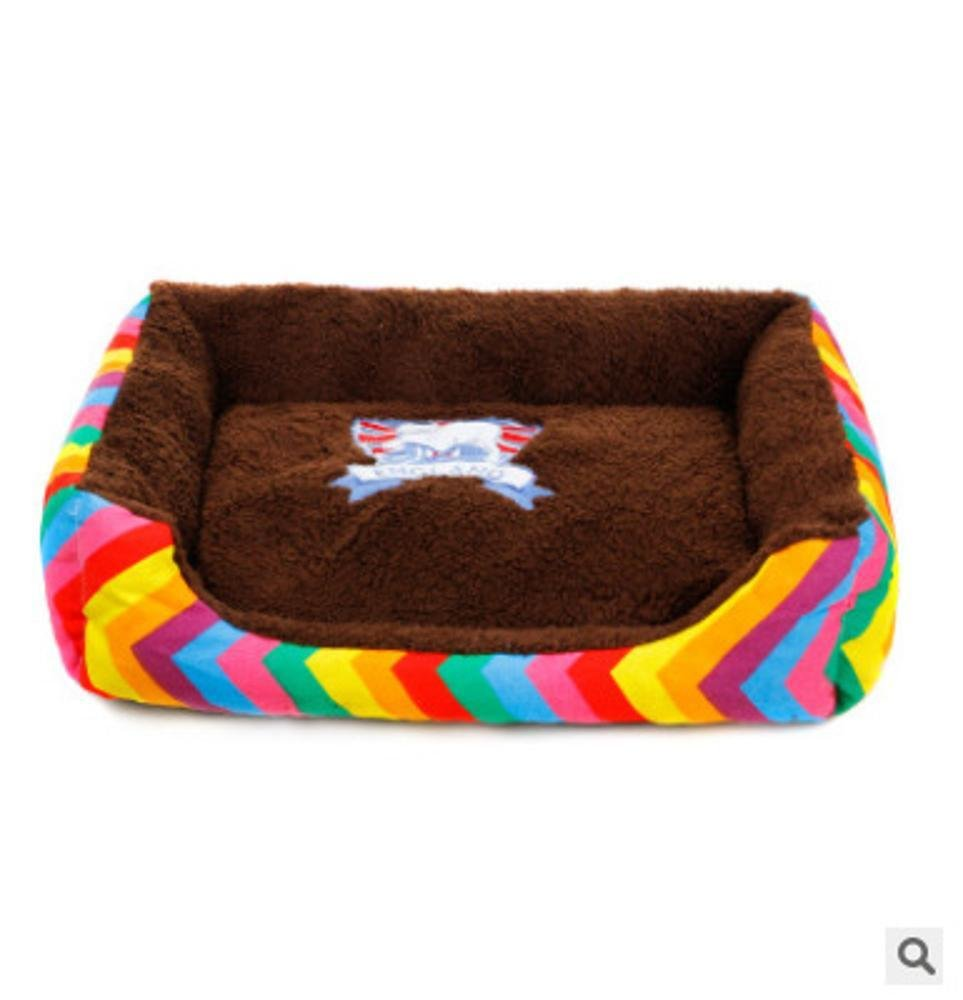 B 967515cm B 967515cm Aoligei Cloth Type Warm pet nest Dog mat Breathable Kennel cat nest Perfect for Sunbathing mat, Nap&Sleeping Bed