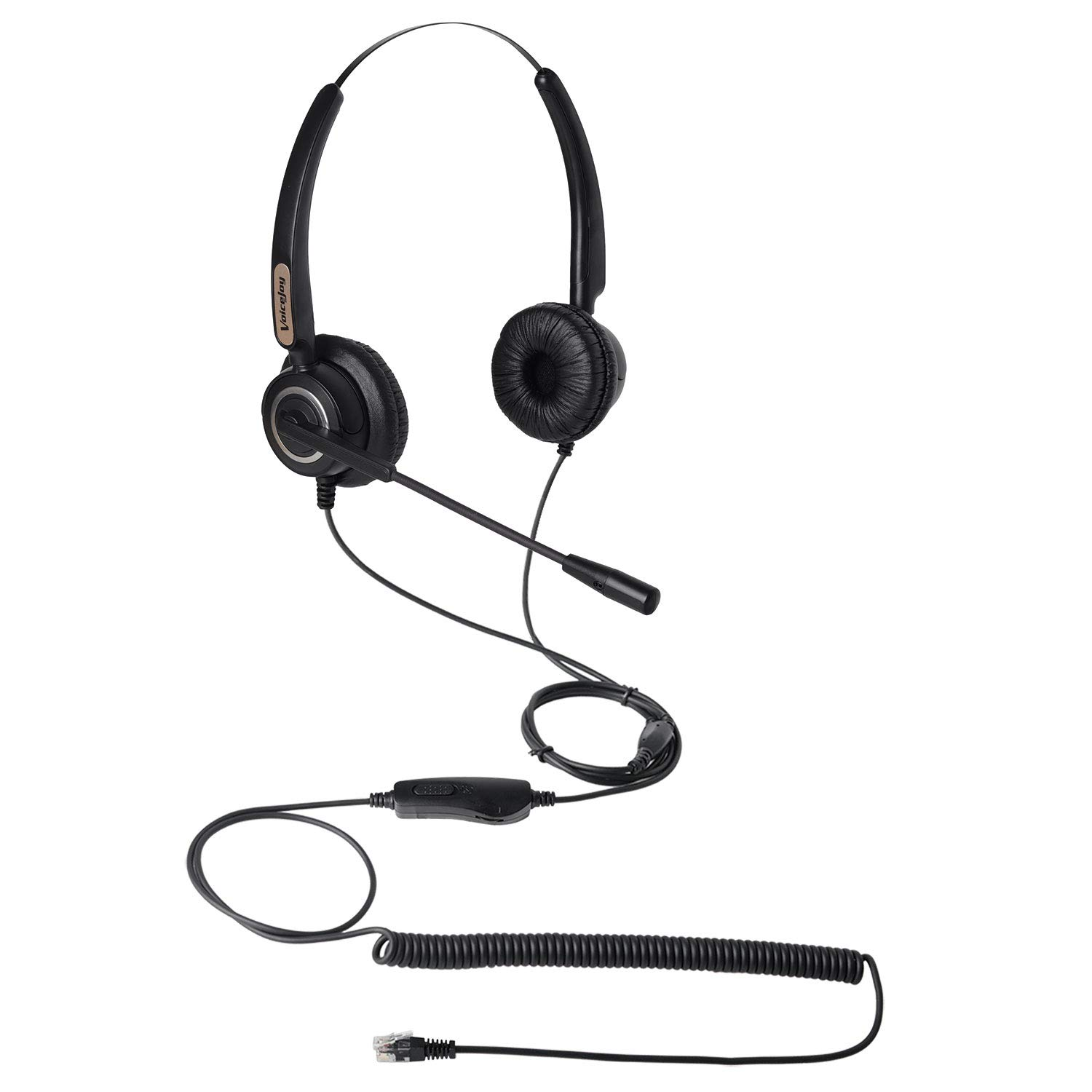Office Headset with RJ9 Plug for Cisco IP Phones 7940 7960 7970 6921 Series 8811,8841,8851,8861,8941,8945,8961,9951,9971 etc
