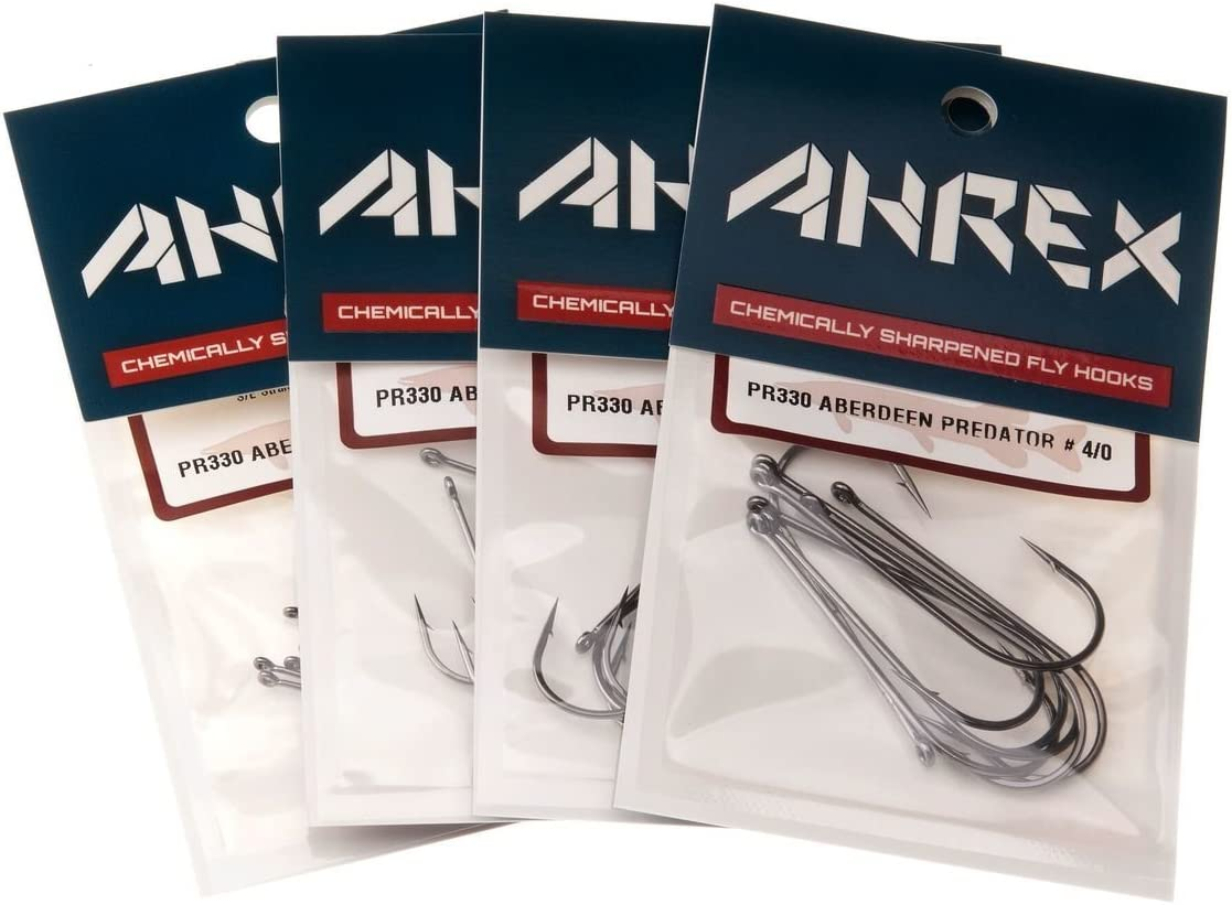 ANREX HOOK   # PR 330 size 2//0 ABERDEEN PREDATOR  Fly Tying