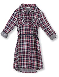 Speechless Big Girls' Plaid Shirt Dress