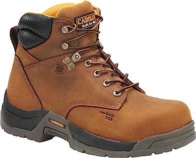 91d691182a5 CA5520 Carolina Men's 6IN WP Safety Boots - Copper - 15.0\4E