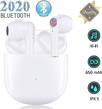 Auriculares Bluetooth,Auriculares Inalámbricos en la Oreja con ...