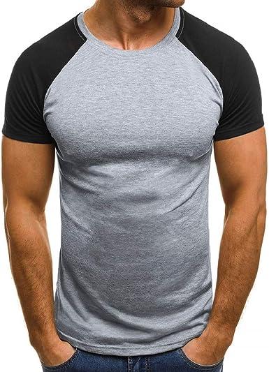 Luckycat Camiseta para Hombre Verano Impresión Manga Corta Camisetas Varios Modelos Moda Diario Casual T-Shirt Blusas Camisas Camiseta de Cuello Redondo Suave básica Camiseta: Amazon.es: Ropa y accesorios