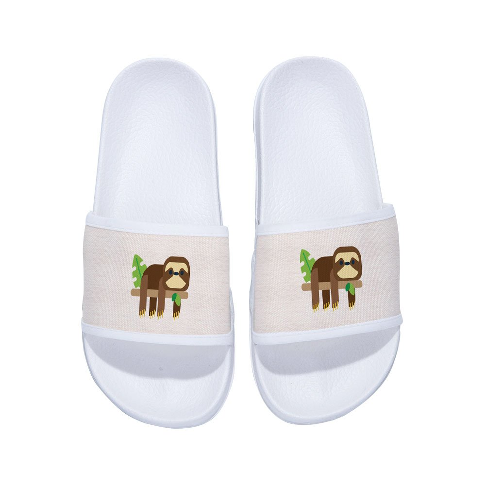 Ron Kite Shower Slides Sandals for Boys Girls Anti-Slip Soft Sole Indoor Outdoor Beach Slipper Shoes