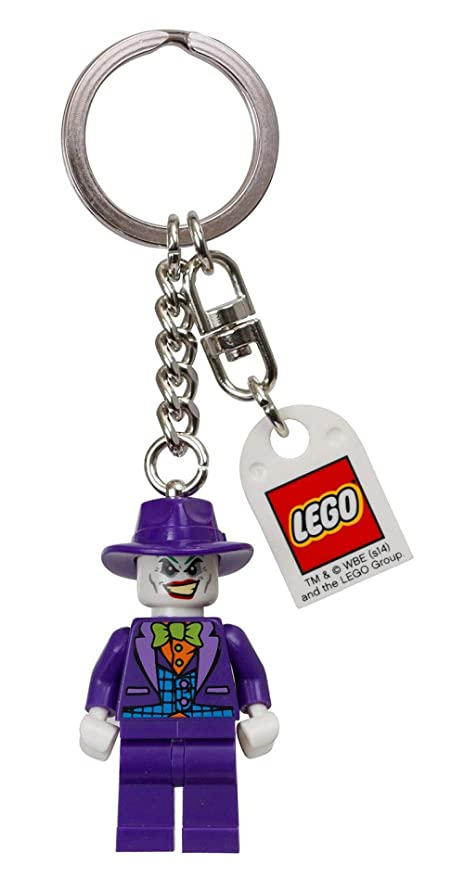 LEGO DC Comics Super Heroes The Joker Key Chain - Funda