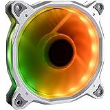 Lian Li デジタルRGB搭載ファン アルミニウムフレーム シルバー ファン/コントローラーキット BORA120RGB Silver KIT 日本正規代理店品