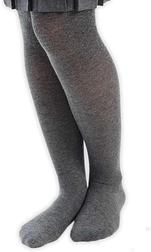 adam /& eesa Collants Uniformes /à Pieds en Coton Uni Filles /& B/éb/és en 4 Couleurs