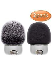 Professional Microphone Furry Windscreen Muff Wind Cover with Foam Microphone Windscreen for Blue Yeti