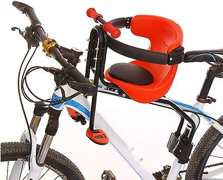 YXZN Asientos Delanteros para niños en Bicicleta Asientos para bebés Ciclismo de montaña para niños Asiento de Seguridad Capacidad de hasta 50 kg,Red,45X30CM: Amazon.es: Deportes y aire libre