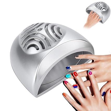 Secador de Uñas Ventilador soplador de clavos Maquina de Manicura Pedicura portátil eléctrico manual,Secado
