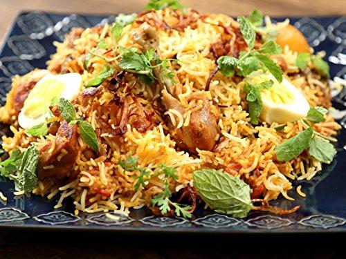 - Homemade Chicken Biryani