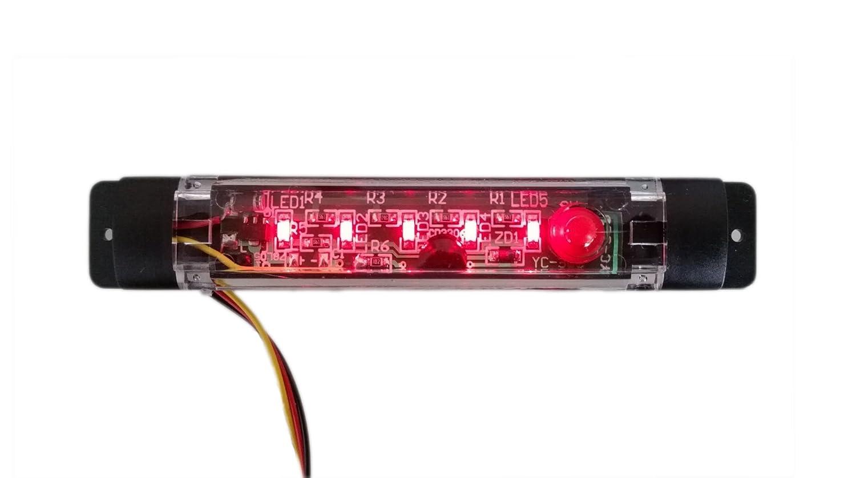レッドスキャナ盗難抑止力シミュレーションアラーム警告ミニLEDライトwithパターン B01LYL8G3W