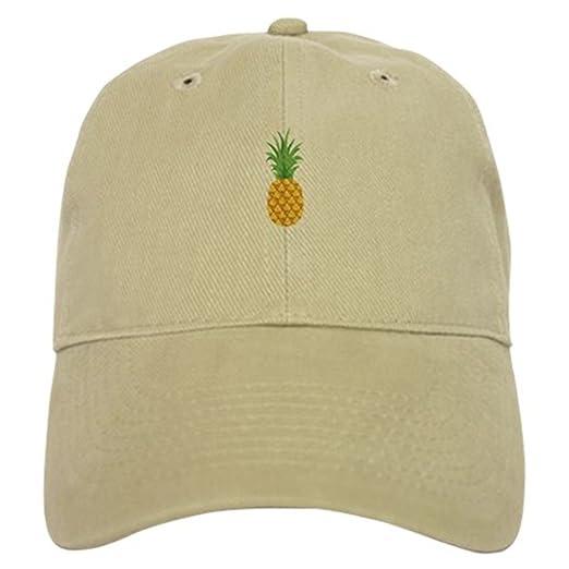 CafePress - Pineapple Fruit Baseball - Baseball Cap with Adjustable  Closure 09ddb3069f7