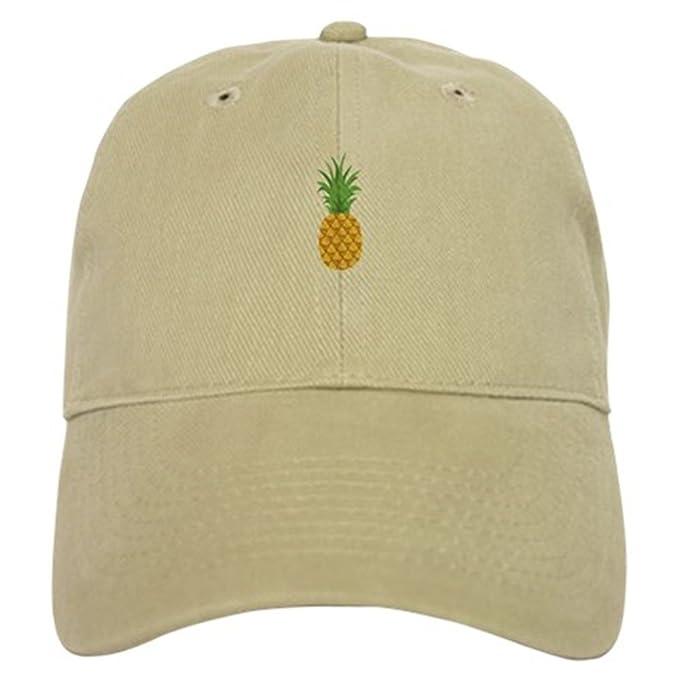 94303168d43 CafePress - Pineapple Fruit Baseball - Baseball Cap with Adjustable Closure