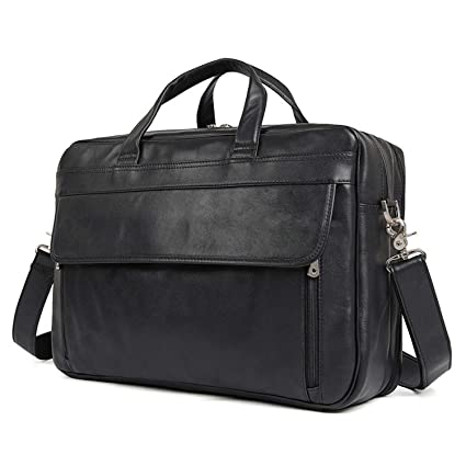 08cca86727f2 Amazon.com  MUMUWU Men s Shoulder Bag Leather Men s Bag Business ...